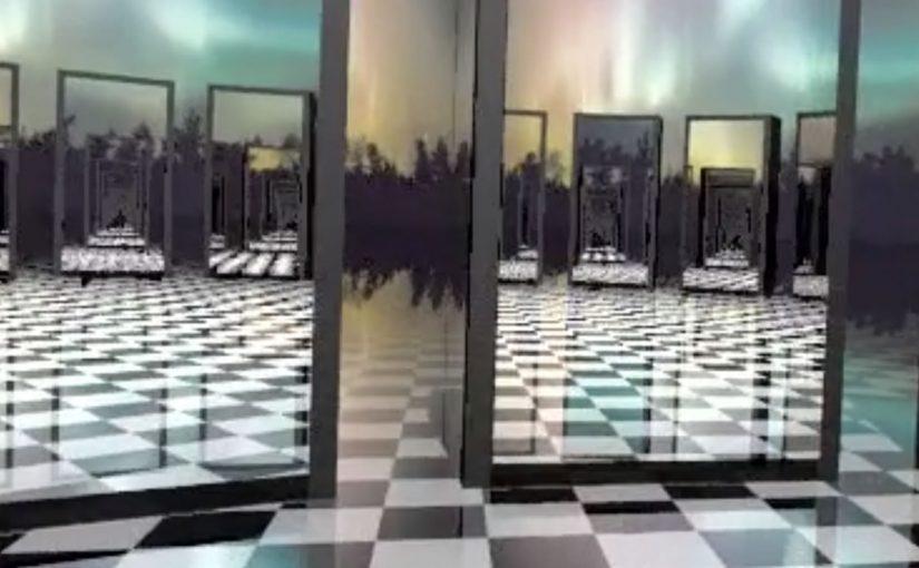 Povray Render – Mirrors